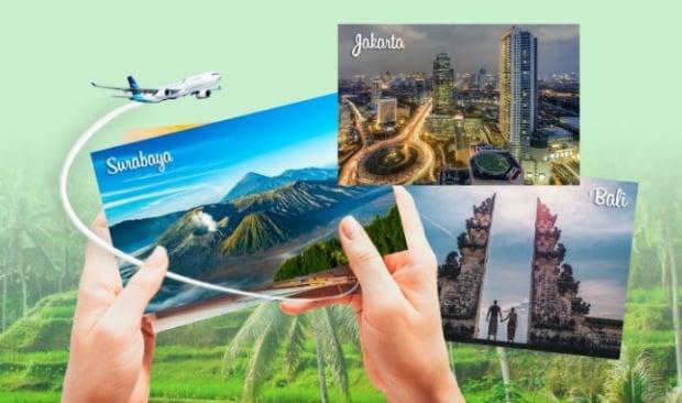 Great Getaway Fares in Garuda Indonesia