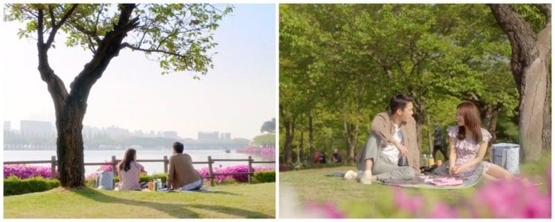 Địa đểm quay phim ở Hàn Quốc : Công viên Hồ Ilsan, Ilsan