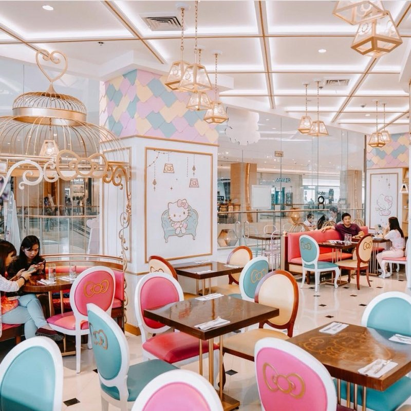 Hello Kitty Kitchen Cafe Manual: Hello Kitty 凯蒂猫粉丝必去的10个地方