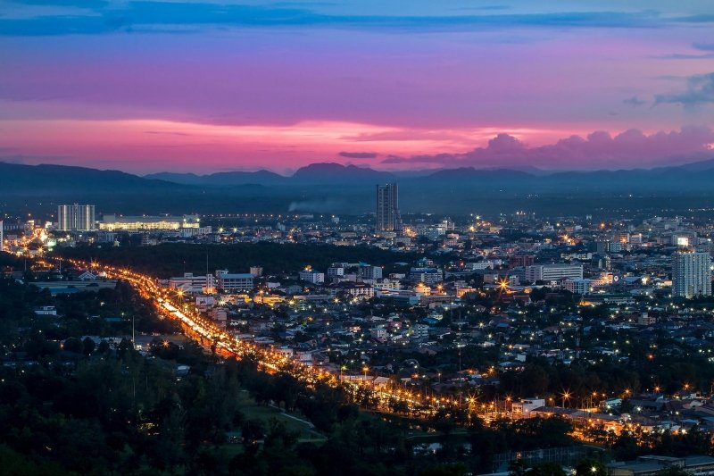 hat yai at night