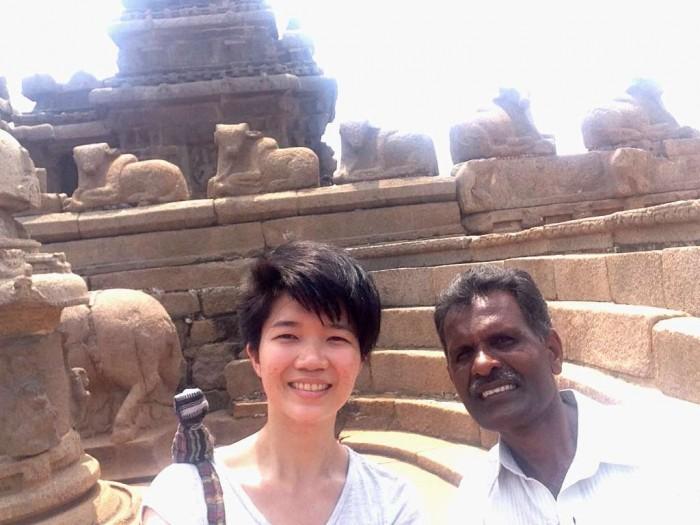 kind stranger mahabalipuram