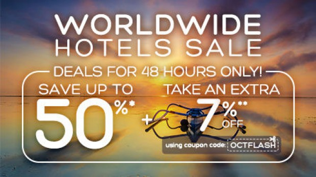 48 Hours Flash Deal | Enjoy 50% Off Hotel Bookings with Hotels.com