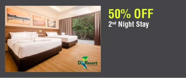 2nd Night Stay at 50% Off in D'Resort@Downtown East with NTUC Card