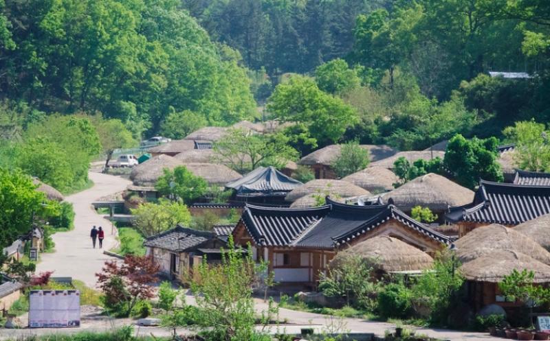 korean folk village k-drama locations