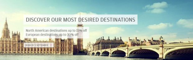 Up to 30% Off Fares to America and Europe with Finnair