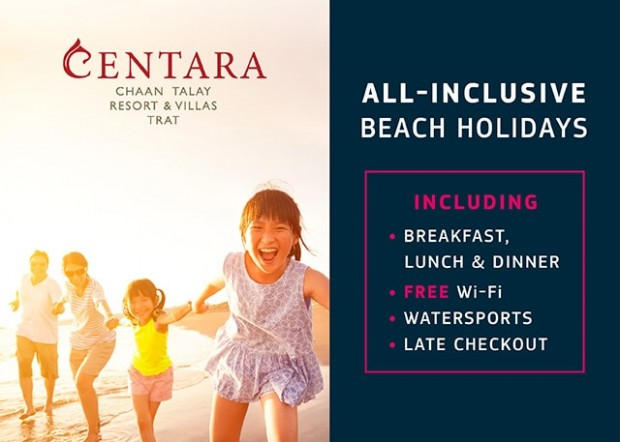 All-inclusive Beach Holiday in Thailand with Centara Hotel & Resort