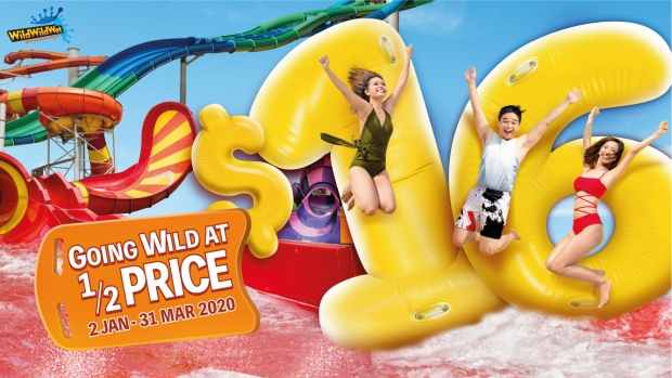 Wild Wild Wet Anniversary Special Offer for NTUC Cardholders