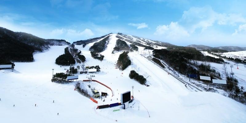 ski resorts in gangwon: welli hilli park