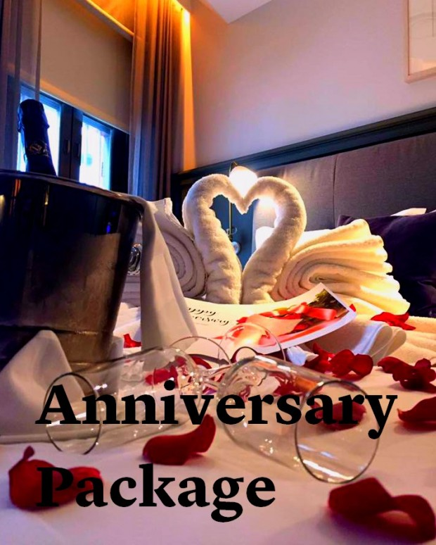 Anniversary Package from SGD288 at The Club Singapore