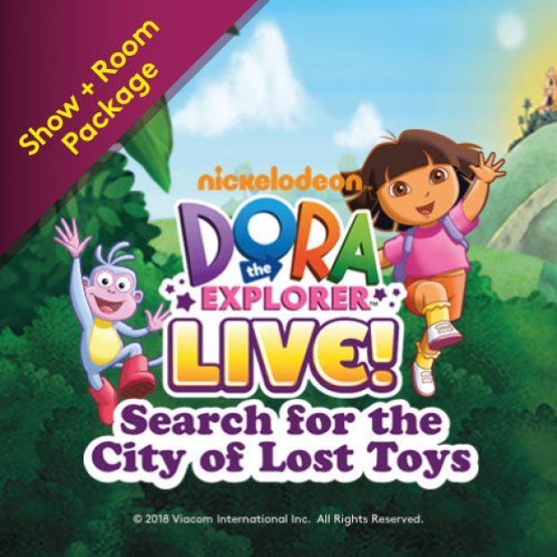 Nickelodeon's Dora the Explorer LIVE! Room Package at Resorts World Genting