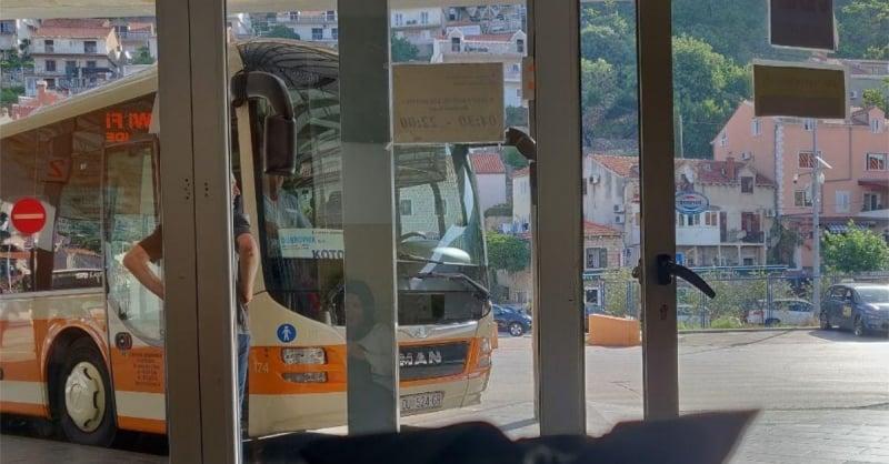 bus in croatia