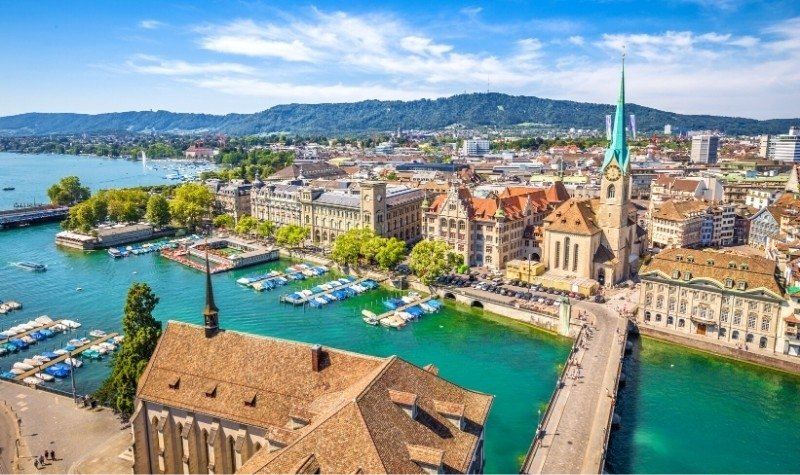 Zurich, One of the Most Expensive Cities in the World