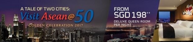 A Tale of 2 Cities: Visit ASEAN@50 with Bay Hotel Singapore