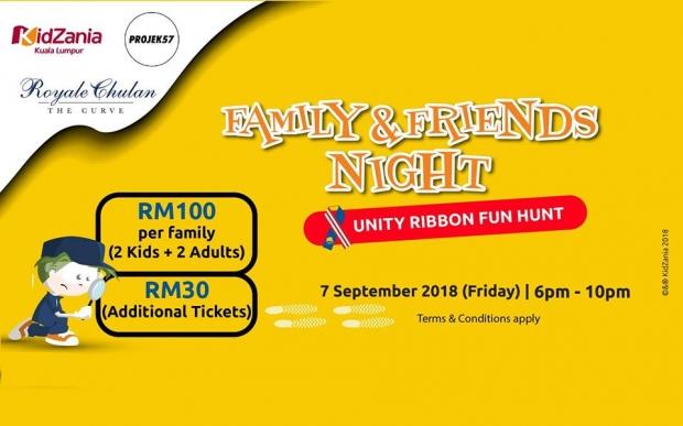 Family & Friends Unity Ribbon Fun Hunt in KidZania Kuala Lumpur