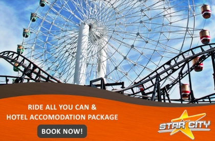 Star City Ride-All-You-Can Staycation Package
