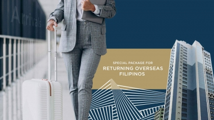 Special Package for Returning OFWs