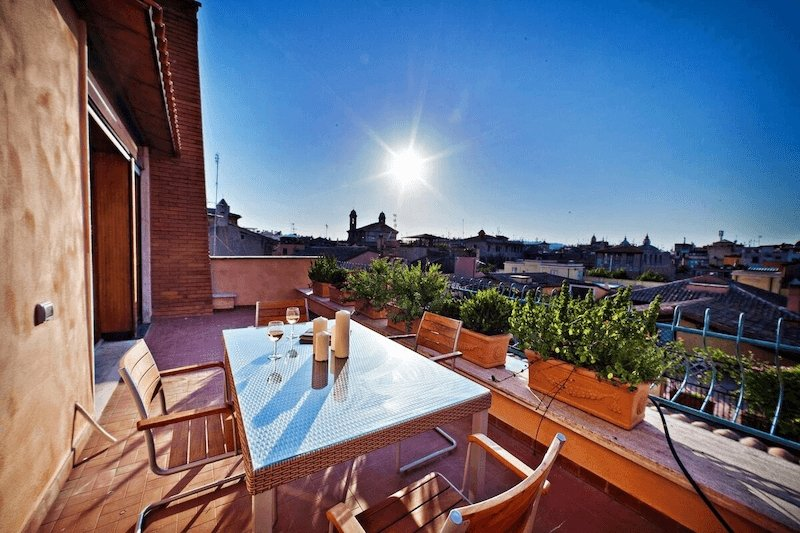 Airbnb near the Spanish Steps of Rome