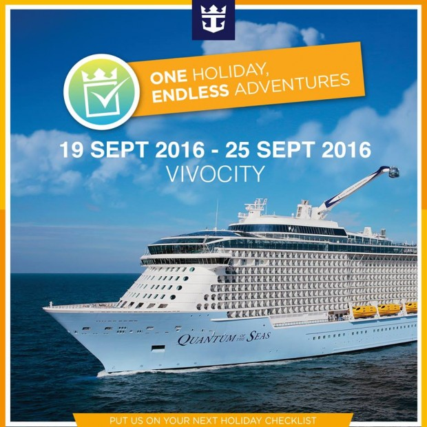 Save more with Royal Caribbean's Roadshow at VivoCity