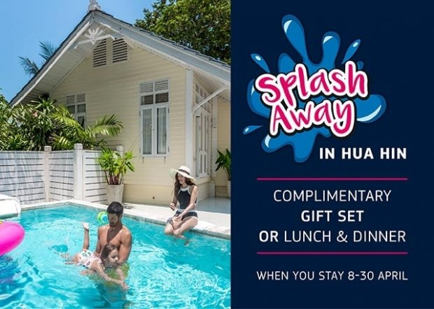 Splash Away on your Songkran Holiday with Centara Grand Beach Resort & Villas Hua Hin
