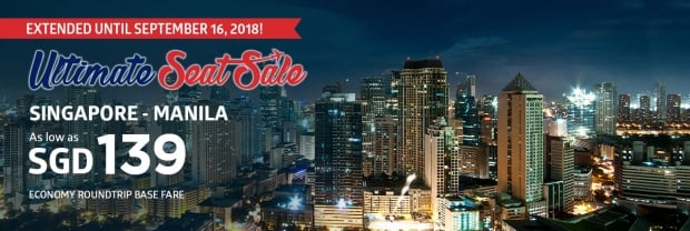 EXTENDED - Ultimate Seat Sale in Philippine Airlines
