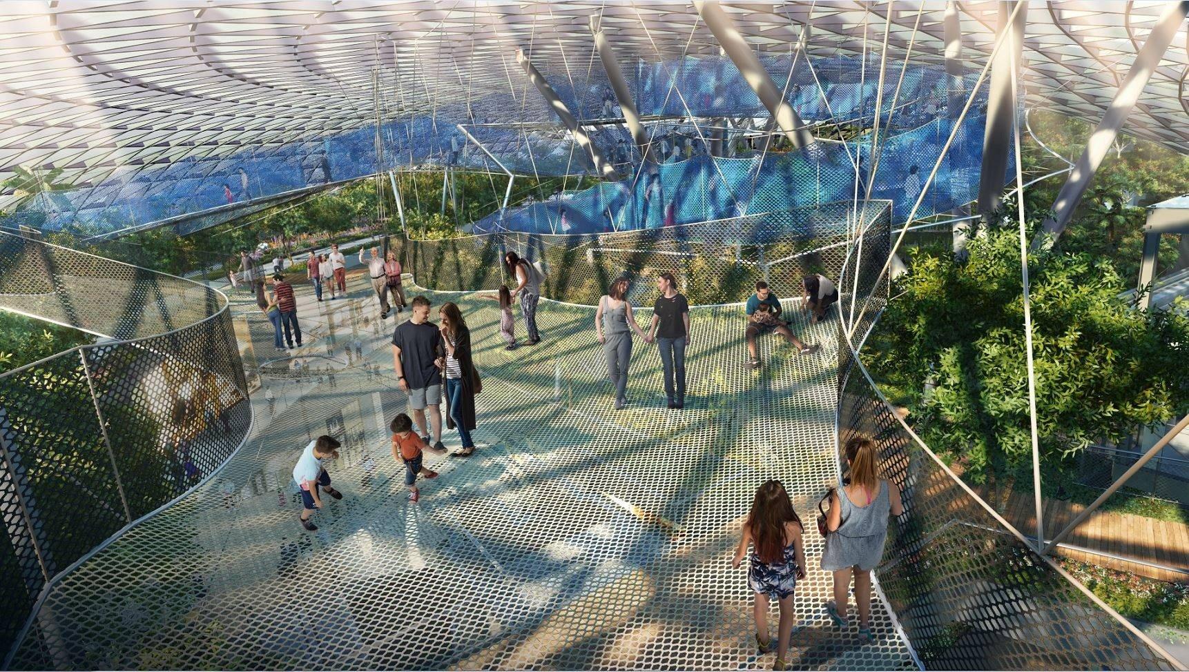 Jewel Changi sky nets