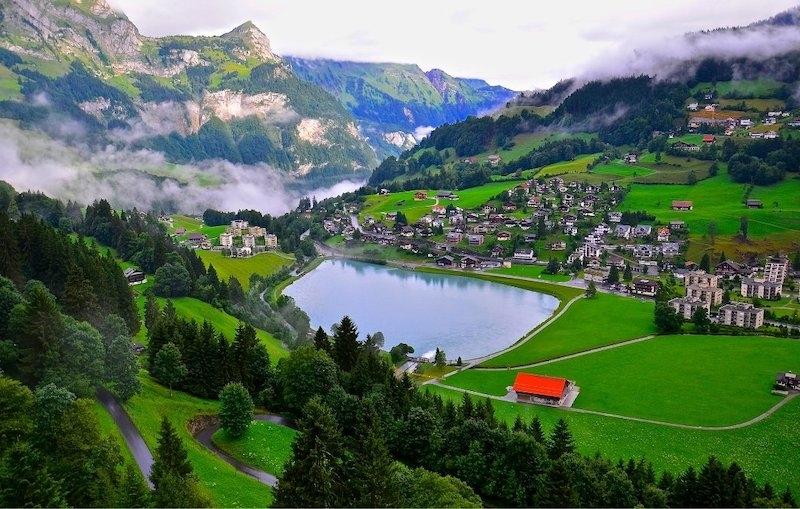 travelling to Switzerland