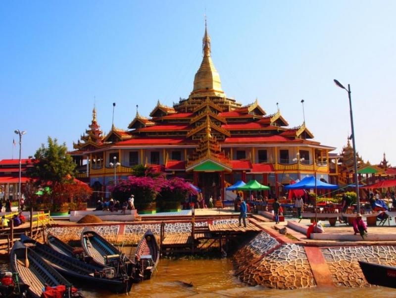 Hồ Inle, Nyaung Shwe