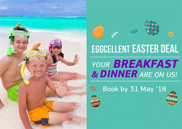 Eggcellent Easter Deal in Participating Centara Hotels & Resorts