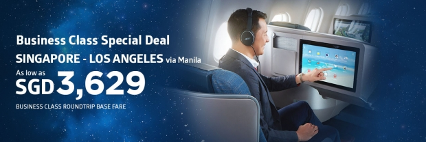 Premium Economy & Business Class Deal in Philippine Airlines 3