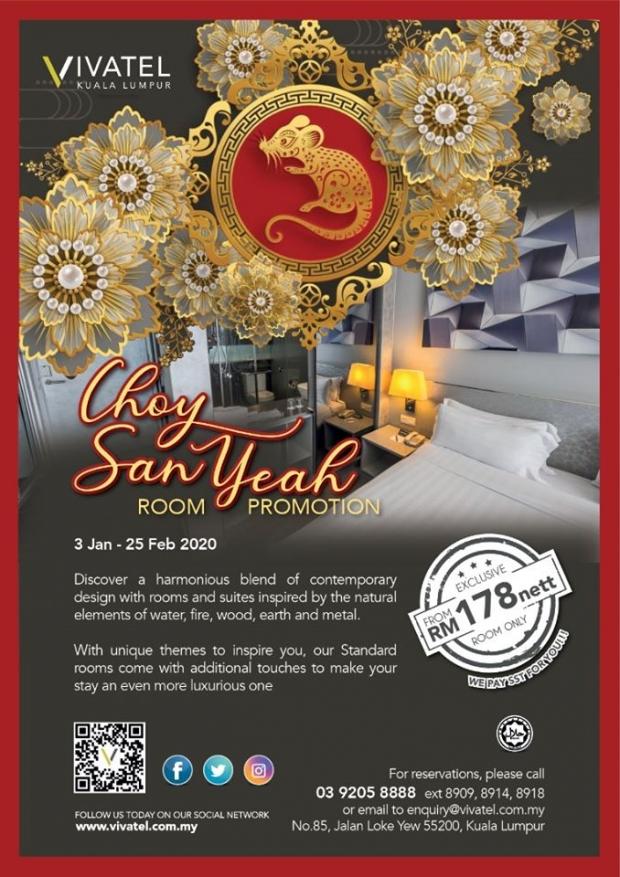 Chinese New Year Promotion at Vivatel Kuala Lumpur
