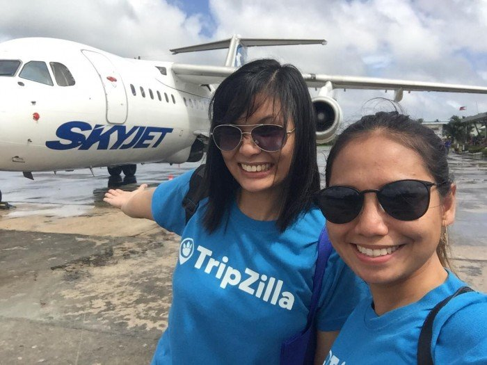 skyjet direct flight manila siargao