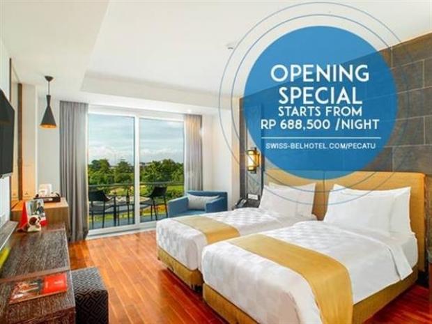 Special Opening Promotion - FREE One Way Airport Transfer at Swiss-Belresort Pecatu, Bali