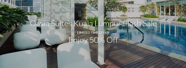 Oasia Suites Kuala Lumpur Flash Sale with Far East Hospitality