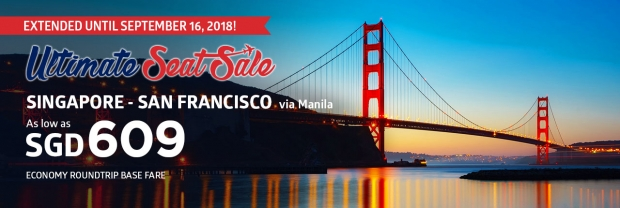 EXTENDED - Ultimate Seat Sale in Philippine Airlines 2