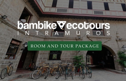 Bambike Eco Staycation Package