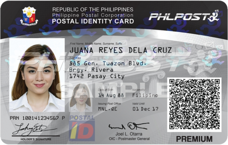 philippine postal id