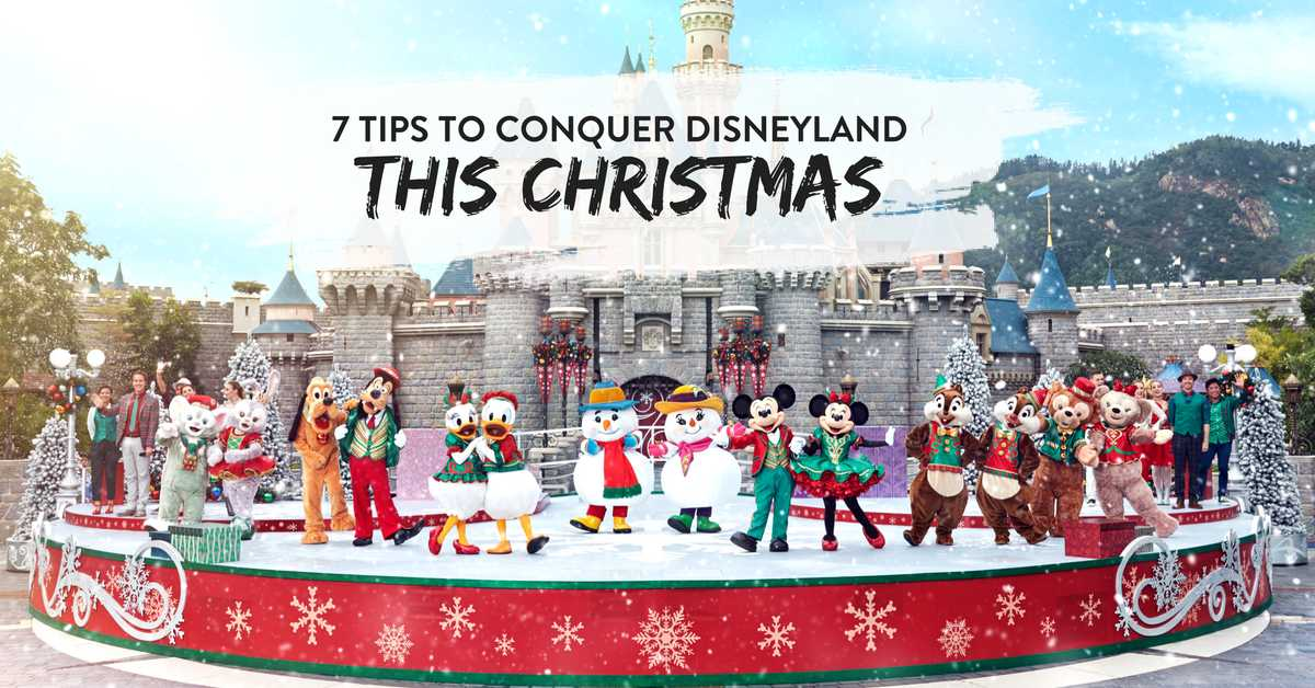 Christmas In Disneyland Hong Kong.7 Tips For Conquering Hong Kong Disneyland This Christmas