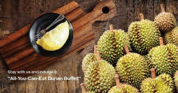 Indulge Yourself in Unlimited Durian Buffet DUring your Stay in Hotel Equatorial Penang