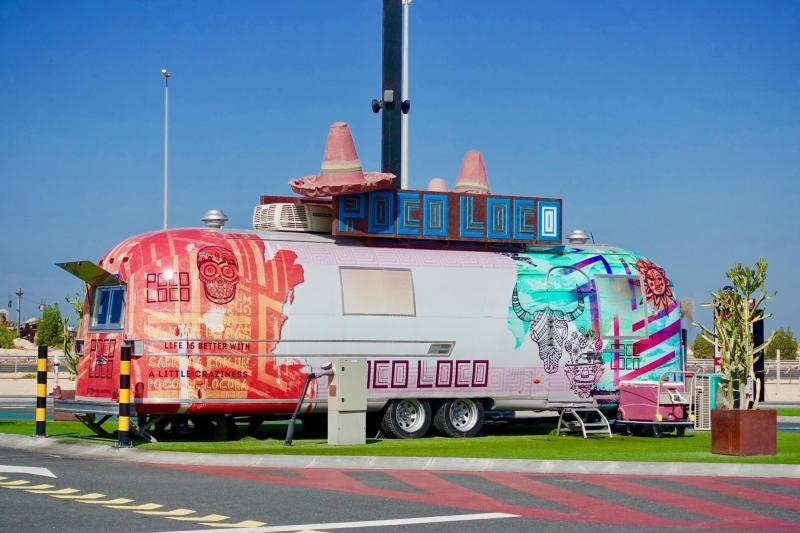 dubai food trailer park