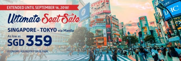 EXTENDED - Ultimate Seat Sale in Philippine Airlines 1