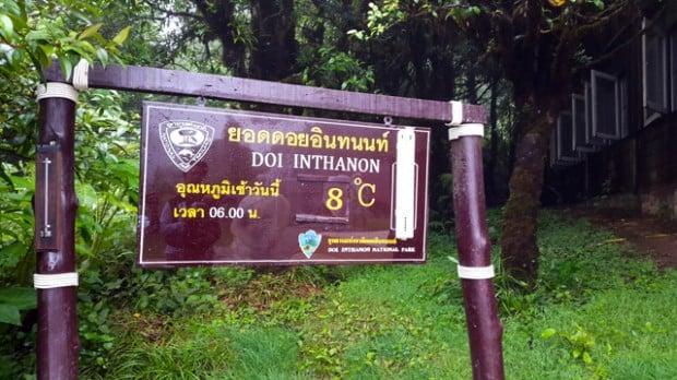 núi cao nhất Thái Lan