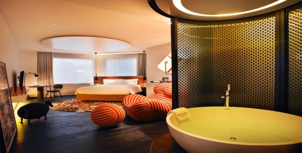 Embrace the Artistic Grandeur of Singapore's Naumi Hotel with MasterCard