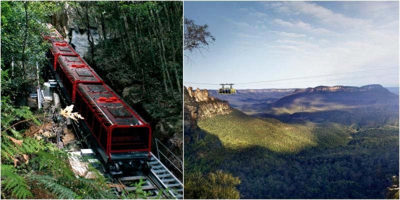 Lịch trình du lịch Úc 8N7D: Ngày 5: Dãy Núi Xanh