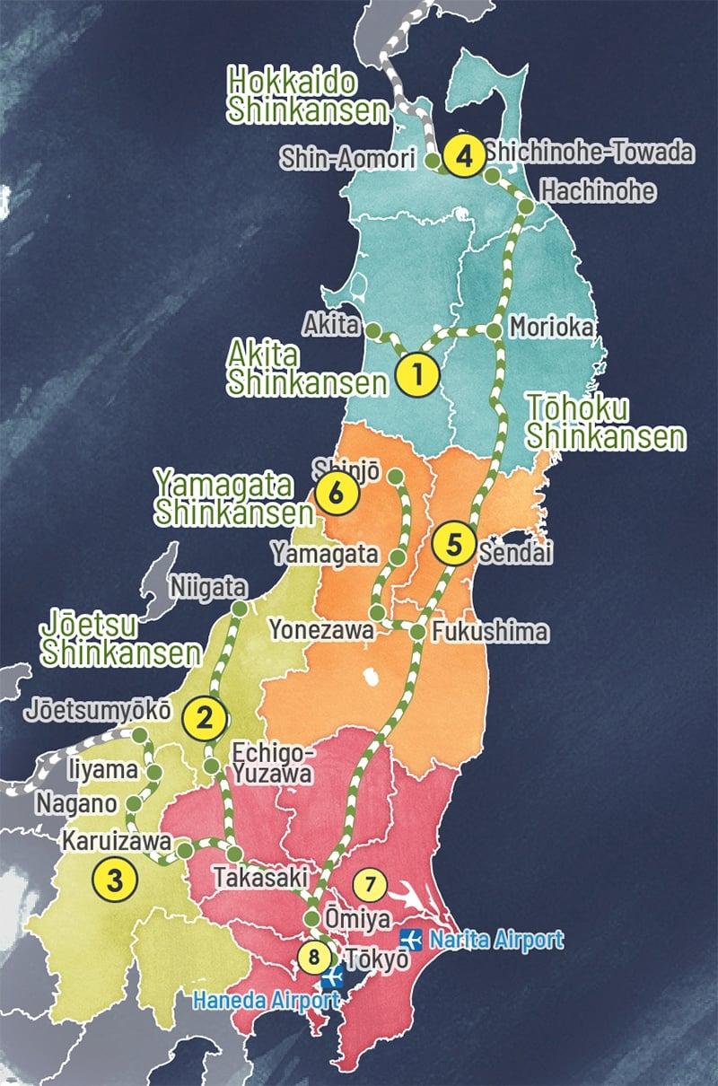 japan fireworks map