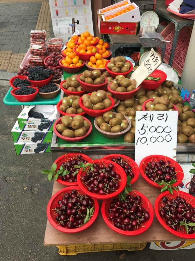 the must try fruits in korea for different seasons