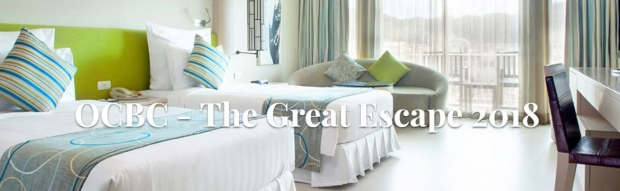 Millennium & Copthorne Hotels with OCBC - The Great Escape 2018