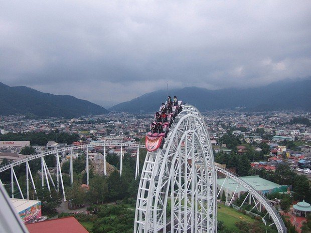 11 Roller Coaster Rides in Japan that Will Have You