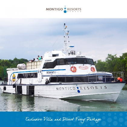 Exclusive Villa & Direct Ferry Package