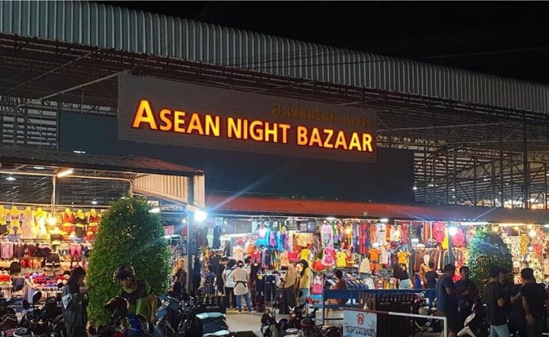 asean night bazaar hat yai