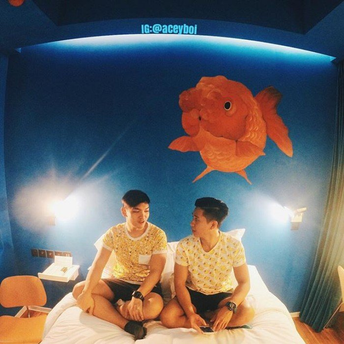 fishy room